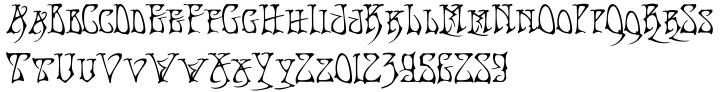Bad Acid Font Sample