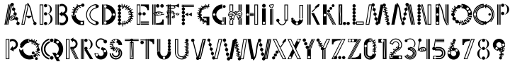 Linotype Party Time™ Font Sample