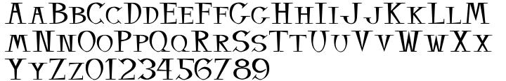 Balsamo Font Sample