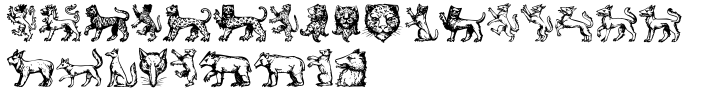 Beasts Font Sample