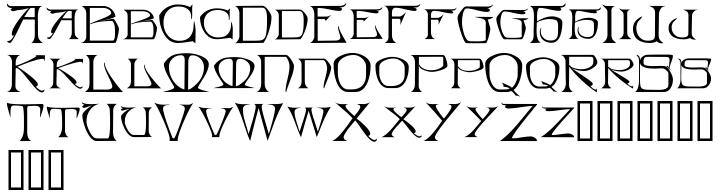 Bedegraine Font Sample