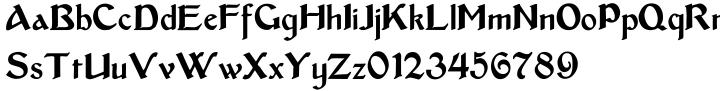 Bentham Font Sample