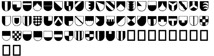 Blazon Font Sample