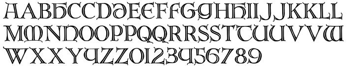 Brandegoris Font Sample