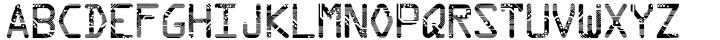 Circuit Font Sample