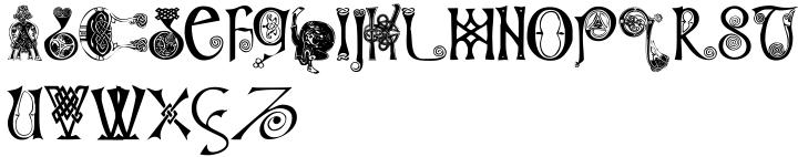 Columba Font Sample