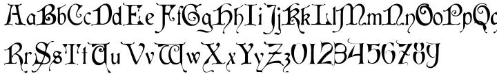 Cymbeline Font Sample