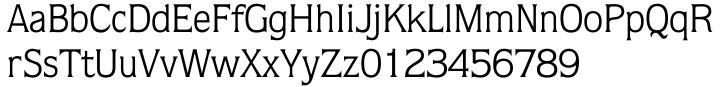 Disraeli Font Sample