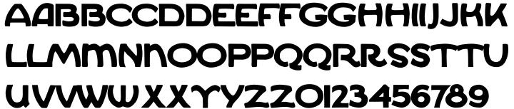Ekberg Font Sample