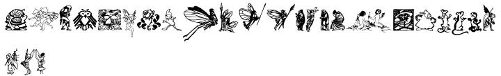 Faerie Font Sample