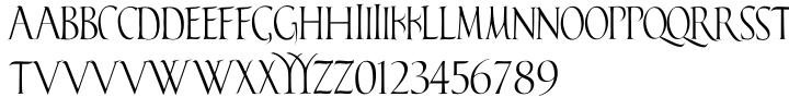 Falconis Font Sample