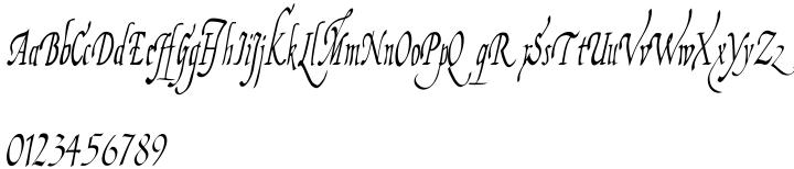 Fiorenza Font Sample