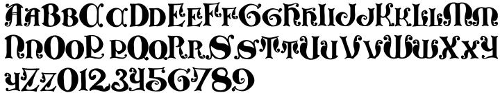 Formidable Font Sample