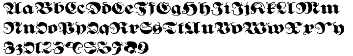 Ghost Gothic Font Sample