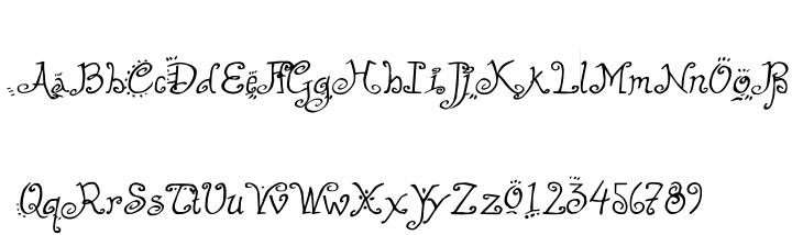 Helzapoppin Font Sample