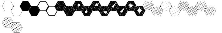 Hexmap Font Sample