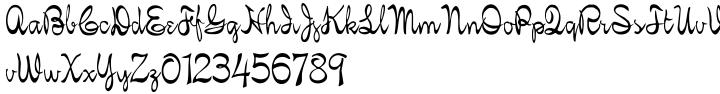 Iphegenia Font Sample