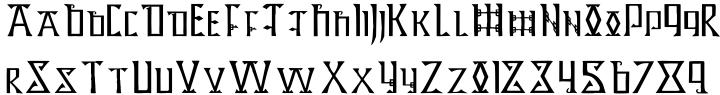 Lindisfarne Font Sample