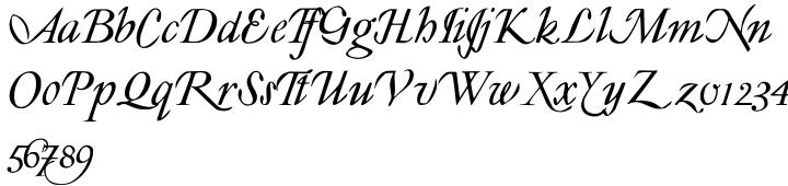 Lyonesse Font Sample