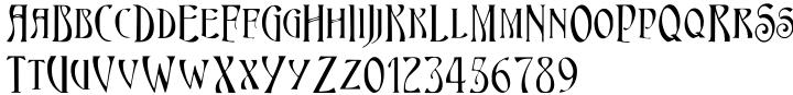 Maginot Font Sample