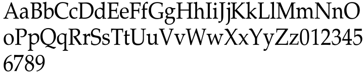 Marquis Font Sample