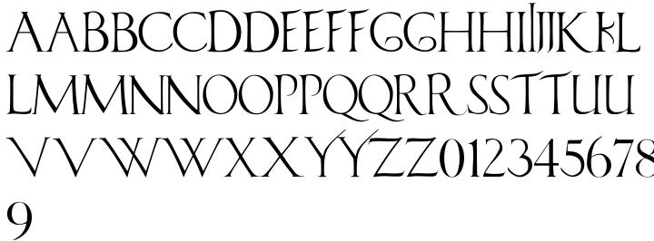Minerva Font Sample