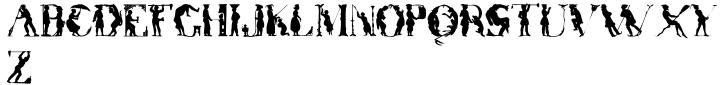 Otherworld Font Sample
