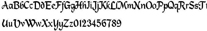Palmieri Font Sample