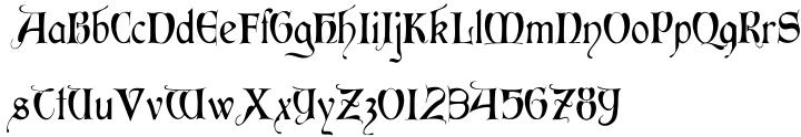 Perigord Font Sample