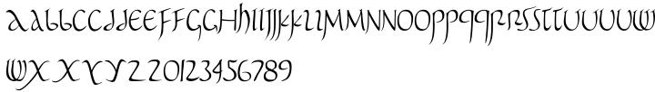 Pomponianus Font Sample