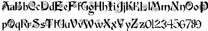 Potsdam Font Sample
