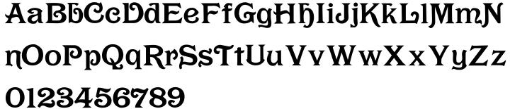 Rochambeau Font Sample