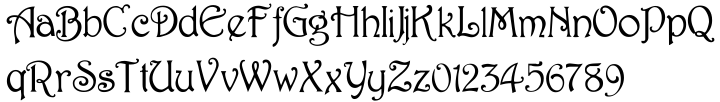 Rossetti Font Sample