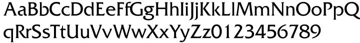 Septimus Font Sample