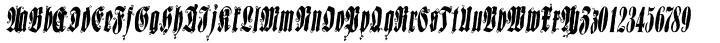 Sepultura Font Sample