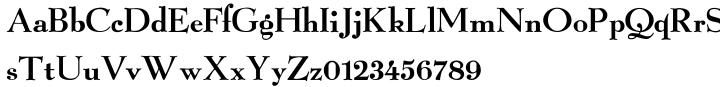 Telluria Font Sample