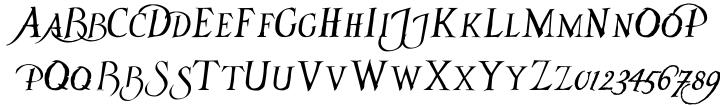 Tenebris Font Sample