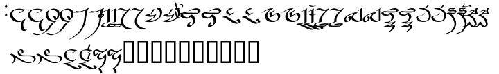 Uvezich Font Sample