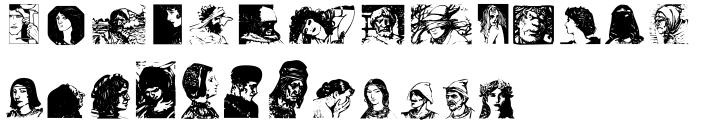 Visage Font Sample