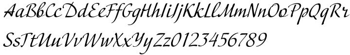 Adventure™ Font Sample