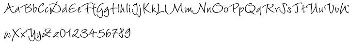 Wiesbaden Swing™ Font Sample