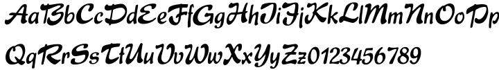 Express® Font Sample