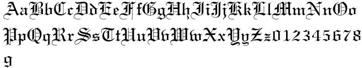 Linotext® Font Sample