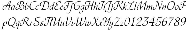 Vesna™ Font Sample