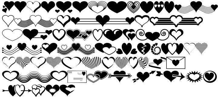 Ann's Valentines Font Sample