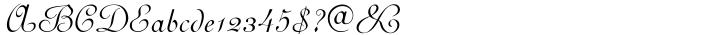 Perugia Cursive™ Font Sample