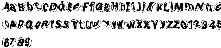 Dimentia Font Sample