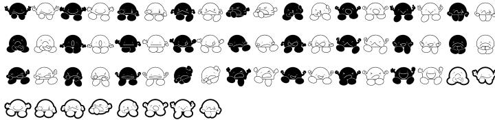 P22 Ching Mang Font Sample