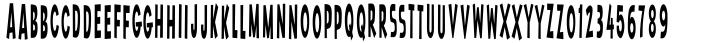 Throom! Font Sample