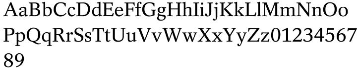 Rotation™ Font Sample